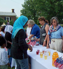 Naturalization Ceremony at Monticello July 4, 20072