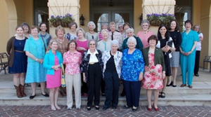 Shadwell Chapter at Keswick Hall  April 2013